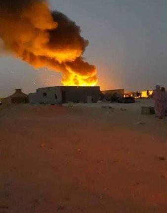 مخيمات تندوف تحترق بسبب صراعات عائلية والأمن غائب (صور)