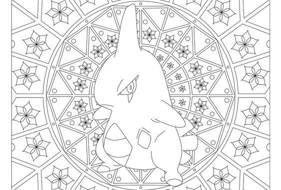 Tranh tô màu Pokemon 51