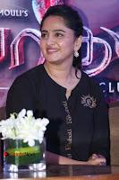Actress Anushka Shetty Stills in Black Gurthi at Baahubali 2 Press Meet  0011.jpg