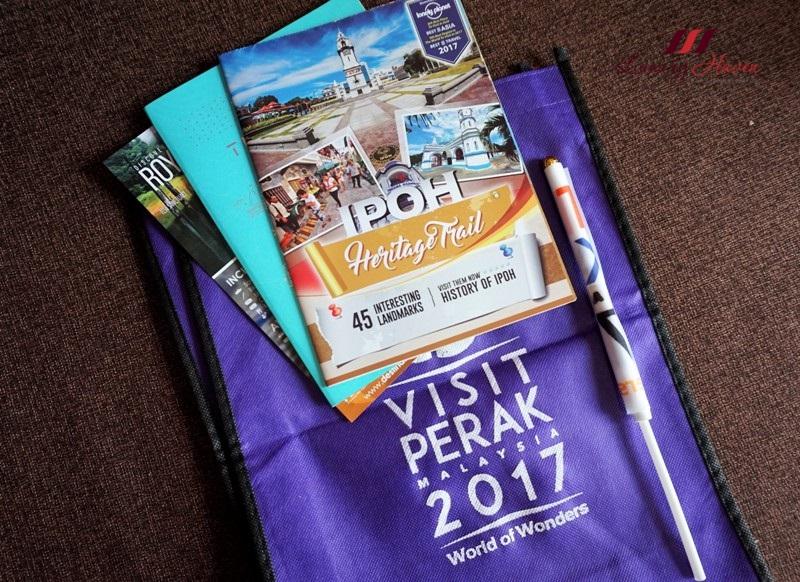 visit perak 2017 souvenirs goodie bags giveaway