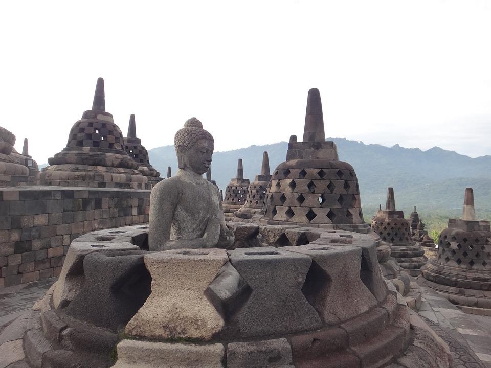 Sejarah Candi Borobudur Pendiri Letak Gambar Asal Usul