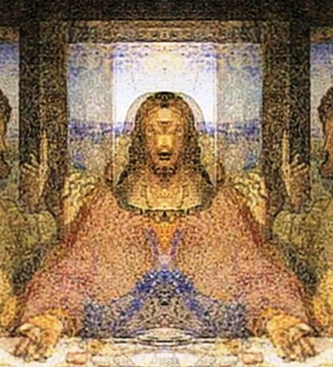 "Hidden Image Exposed in Da Vinci's ""The Last Supper"" Painting! Da Vinci Paintings Hidden Messages"