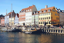 A Rare Peek Behind The Facade Of Copenhagen's Colourful Nyhavn!