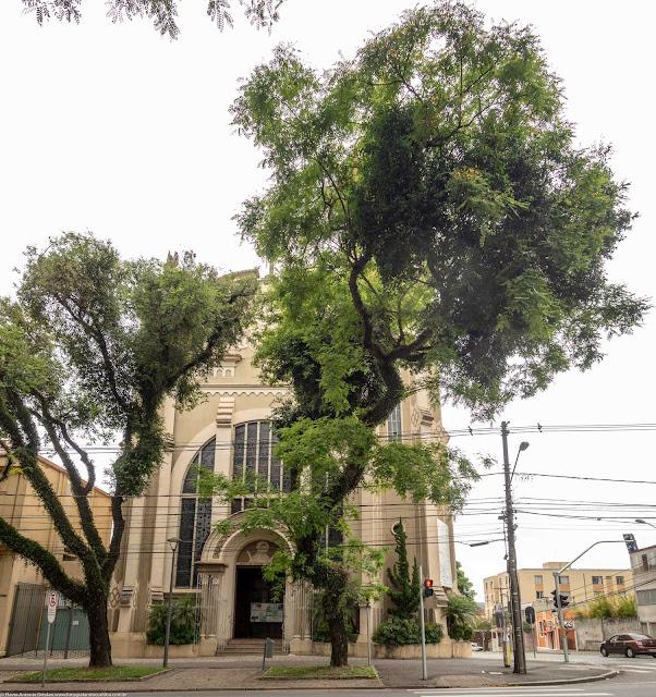 Igreja Imaculado Coração de Maria - fachada