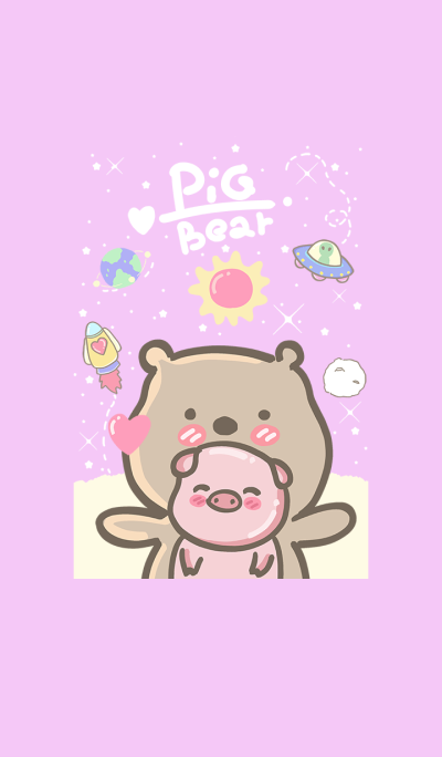 pig and bear (my universe4)