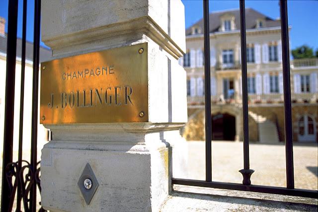 """Bollinger reeleita  """"Marca de Champagne Mais Admirada"""""""