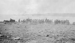 Wojska Brytyjskie przy Zatoce Suvla z roku 1915