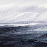 Aquarelle et acrylique sur papier marouflé sur toile © Annik Reymond