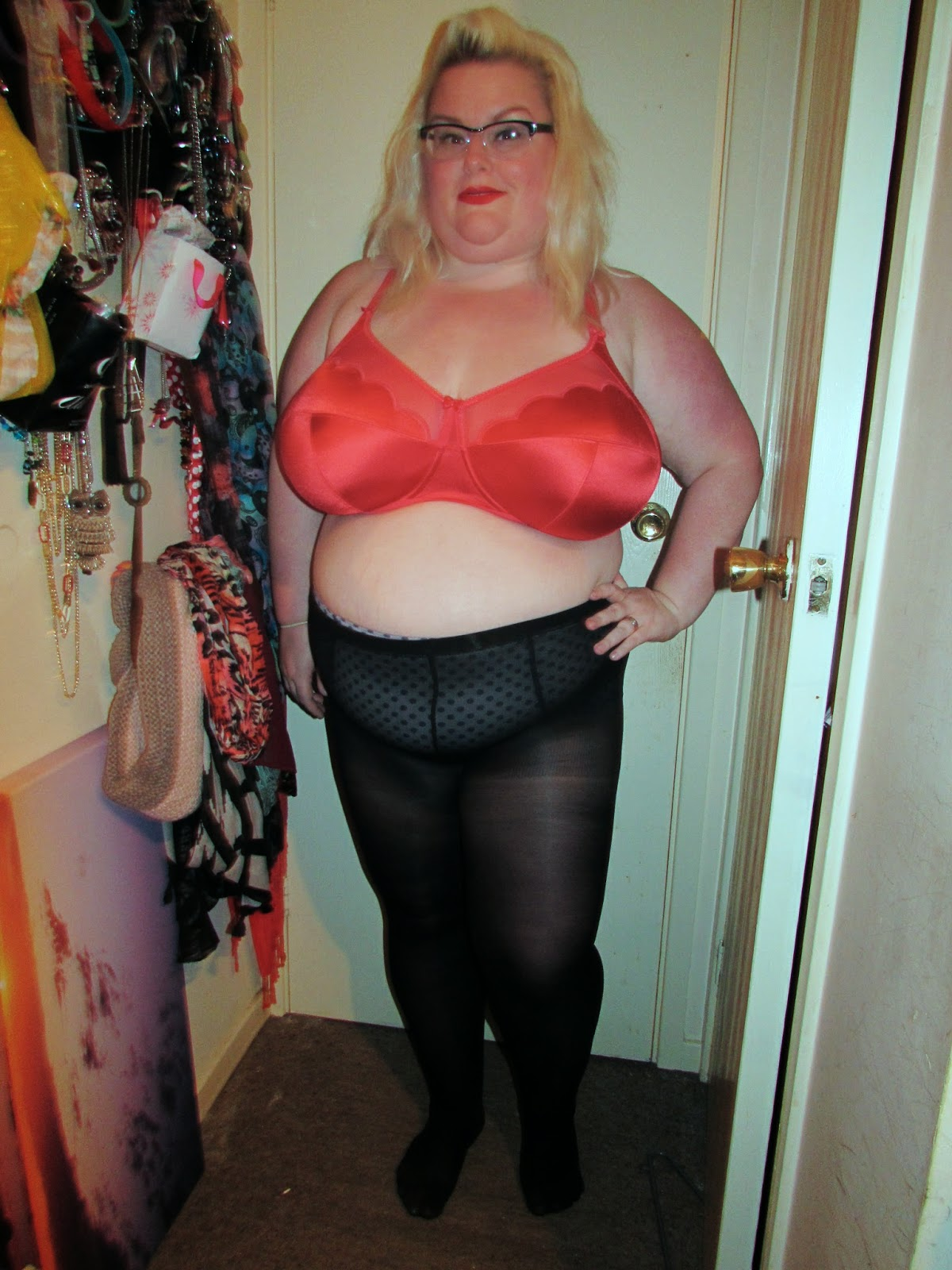 Blonde milf perky tits
