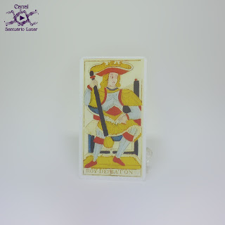Tarot de Marseille (Heron) - King of Batons