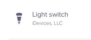 eero light switch icon