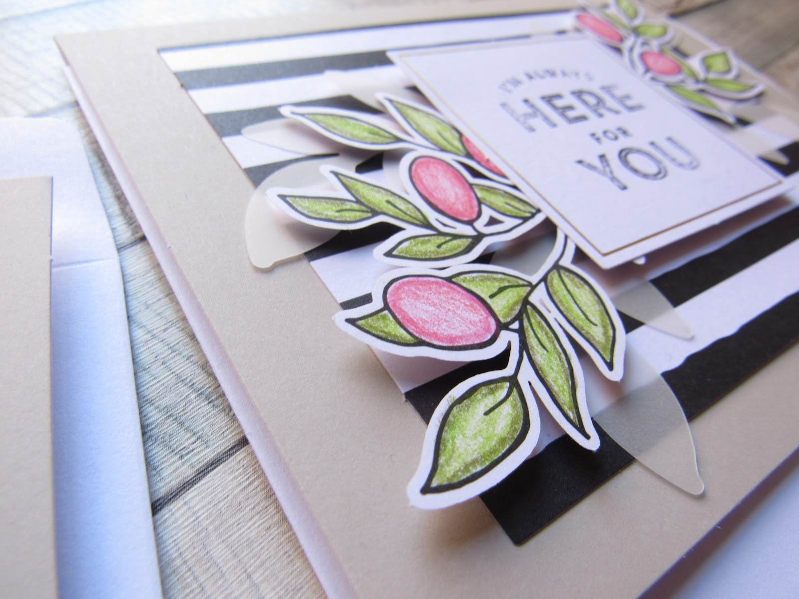 Blooming Fiction, Get Stampin' with a Stampin' Up Card Kit