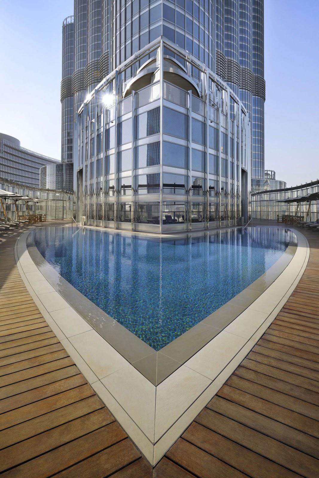 Passion for luxury armani hotel dubai for Pool design dubai