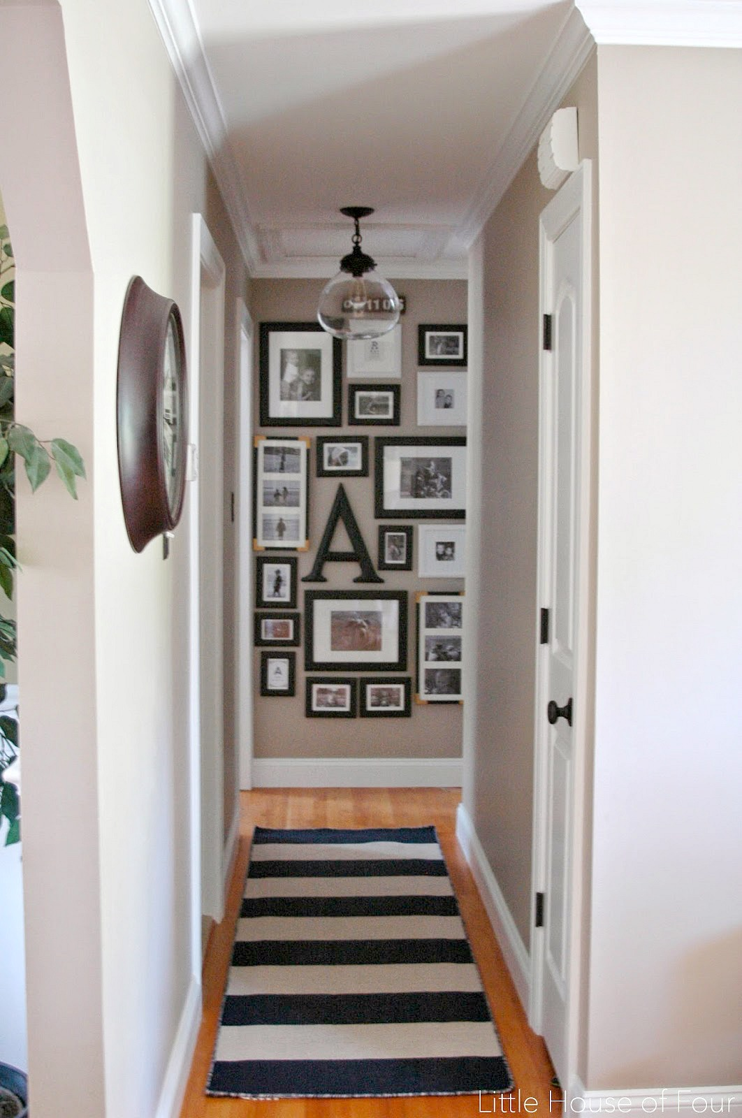 Updated Hall Gallery Wall