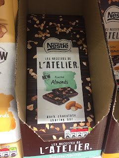 L'atelier Roasted Almonds Dark Chocolate