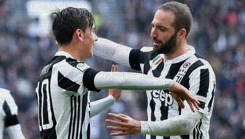 Juventus-Udinese finisce con una doppietta di Dybala, Higuain sbaglia dal dischetto