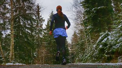 Laufen in der Weihnachtszeit
