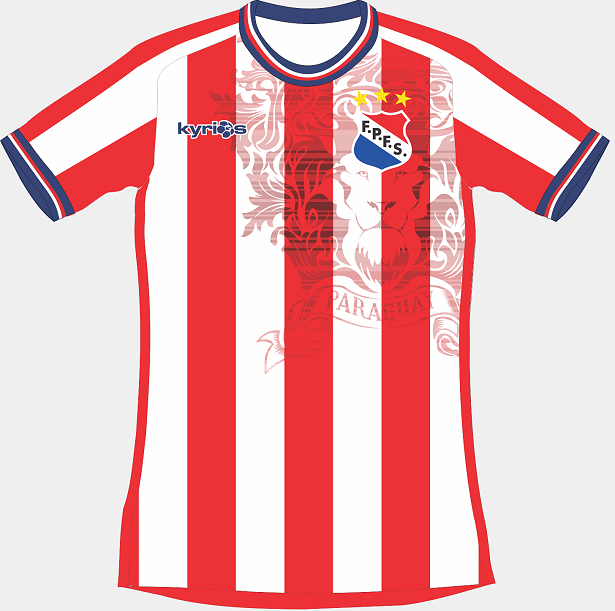 Kyrios Sport divulga novas camisas da Seleção Paraguaia de futsal ... 08fccb270dd3b