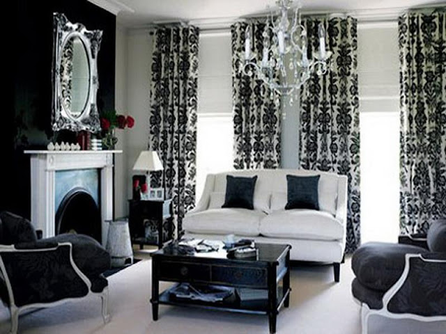 Black and white contemporary living rooms Black and white contemporary living rooms Black 2Band 2Bwhite 2Bcontemporary 2Bliving 2Brooms6