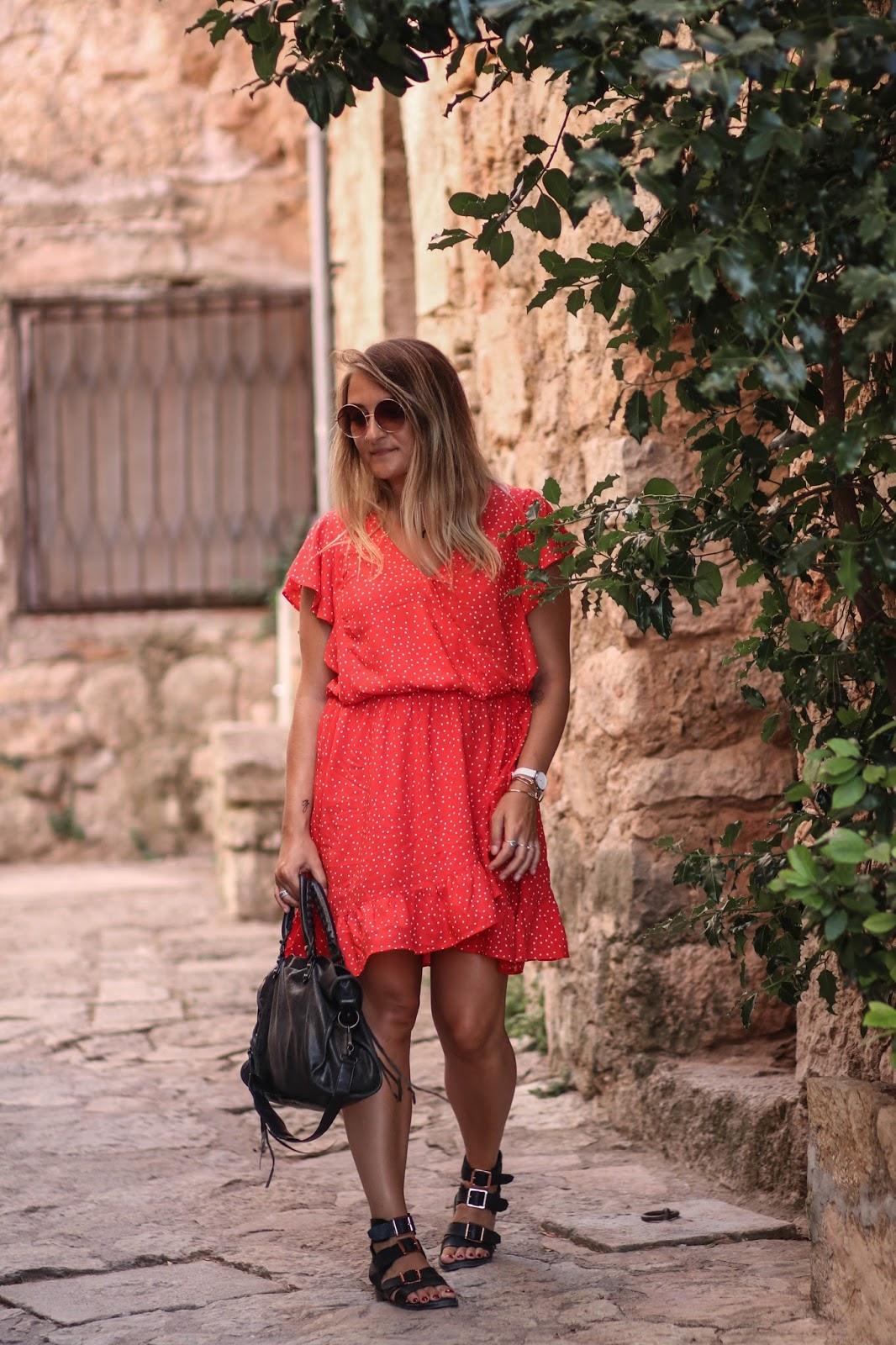 robe rouge camaieu parisgrenoble