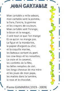 Image94 - DES POESIES POUR LA RENTREE ! Thèmes : l'école – les lettres – écrire
