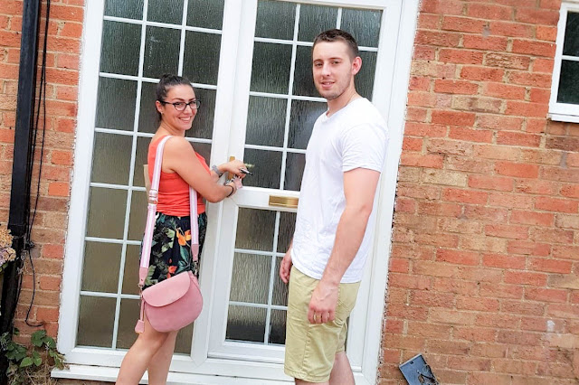 Home | Moving Day - the moment we opened the door!