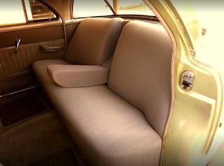 1951 Packard 300 Classic Sedan Seat Rear
