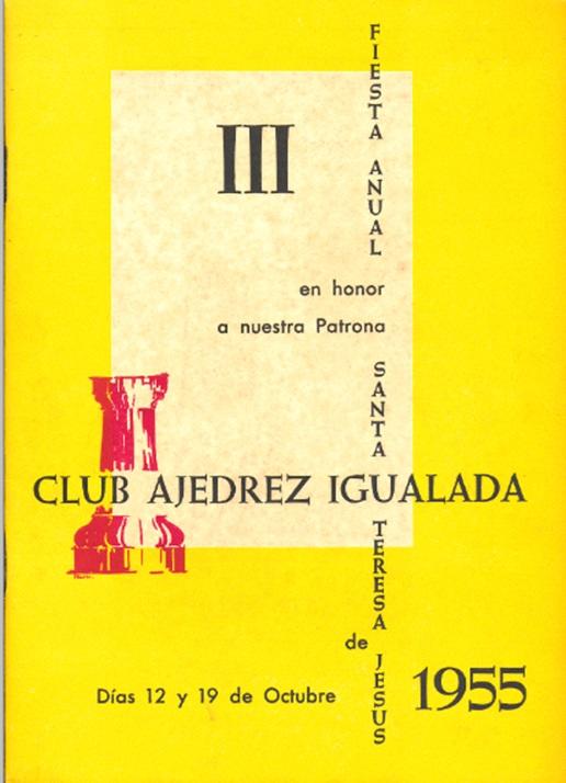 Opúsculo de la Fiesta Anual de 1955