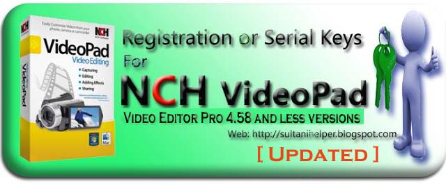 free videopad video editor serial numberinstmank