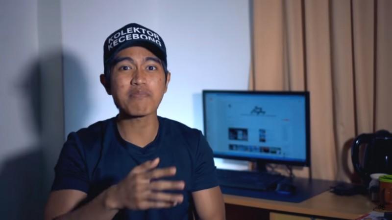 Kaesang dalam Vlog Bapak Minta Proyek
