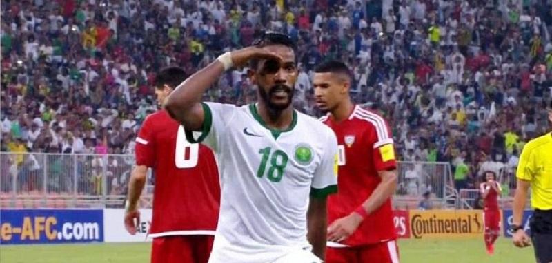 المنتخب السعودي يسحق الاماراتى بالثلاثة ويتصدر مجموعته فى تصفيات آسيا المؤهلة لكأس العالم
