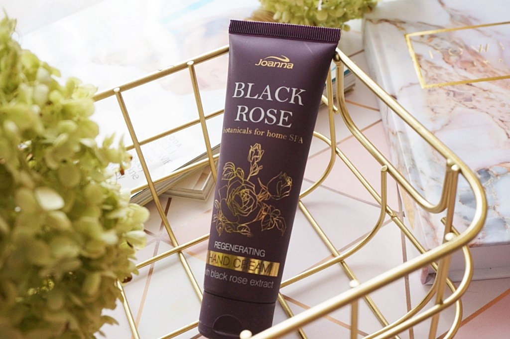 Joanna Botanicals for Home SPA hand cream black rose