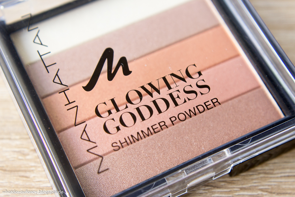 "Manhattan Glowing Goddess Shimmer Powder ""Moroccan Sun"""