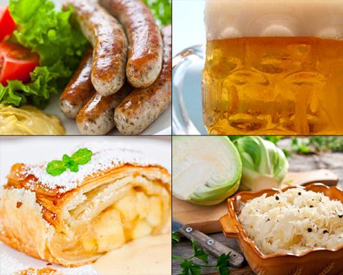 Restaurantes de comida alemana en la ciudad