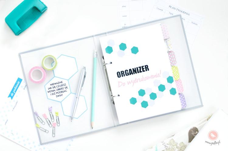 Organizer do wydrukowania, planer, kalendarz do wydrukowania