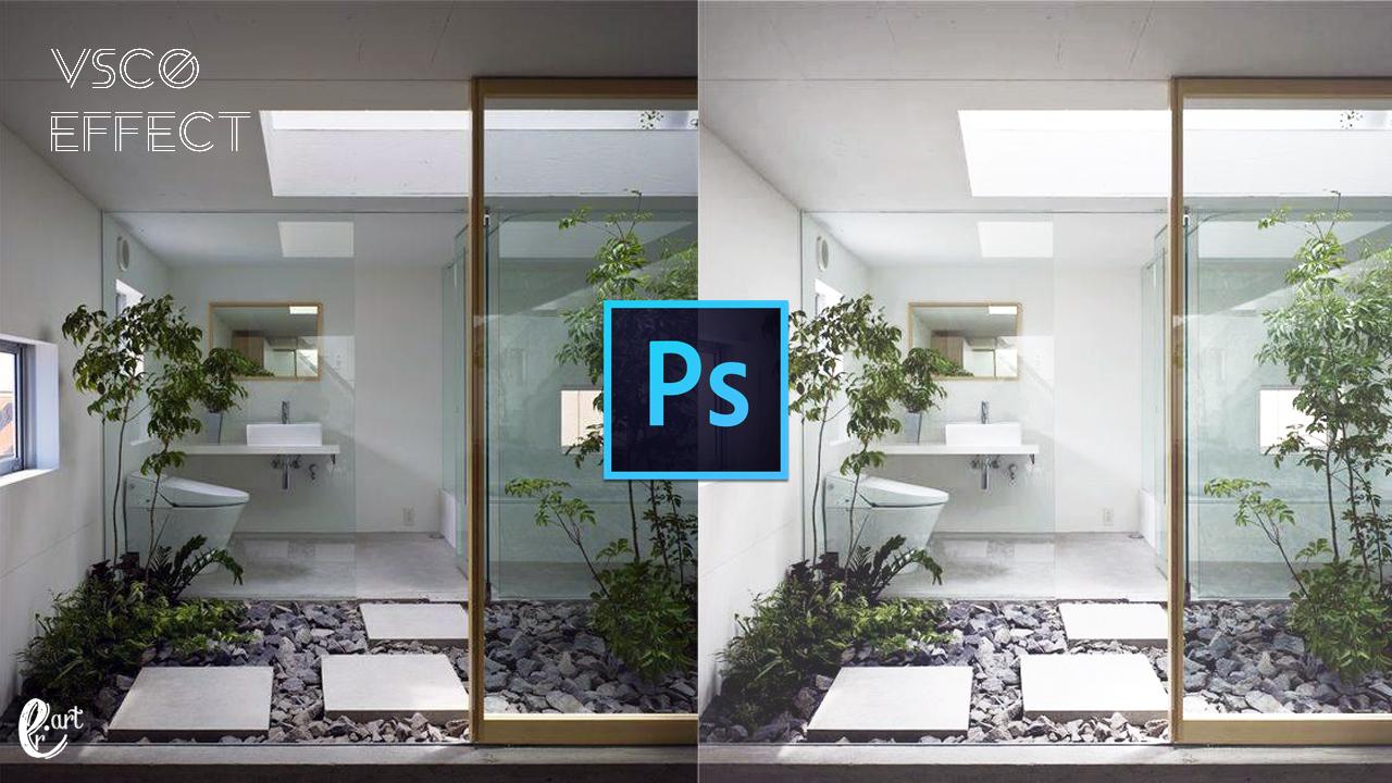 Action : VSCO Effect in Photoshop - ER ART Tube