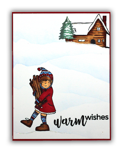 Warm Wishes Hero Arts Card by Understand Blue