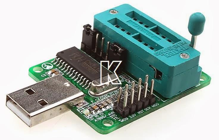 EN25T80 Programmer USB Series SPI FLASH BIOS 24CXX25XX STC