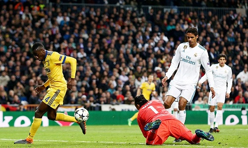 Navas' mistake led to Real's third goal.