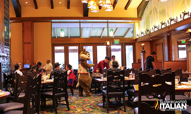 Disneyland Character Dining: Mickey's Tales of Adventure
