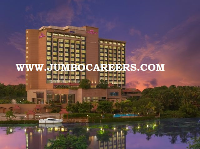 sales, front office, maintance jobs in 5 star hotel kochi