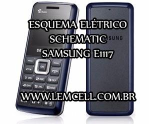 Esquema Elétrico Celular Smartphone Celular Samsung E1117 Manual de Serviço  Service Manual schematic Diagram Cell Phone Smartphone Celular Samsung E1117