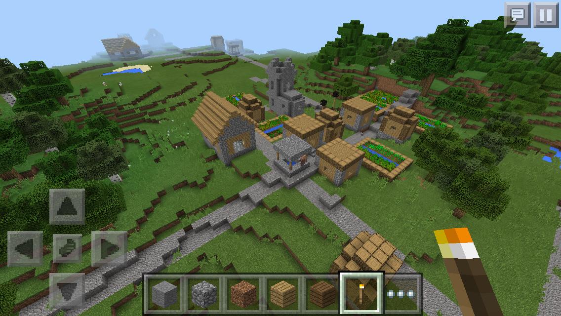 Minecraft PE seeds: ☆ Village Seed Bundle ☆