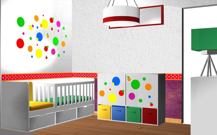 Diseno De Cuartos Infantiles Decoracion De Habitaciones Para Ninos - Diseos-habitaciones-infantiles
