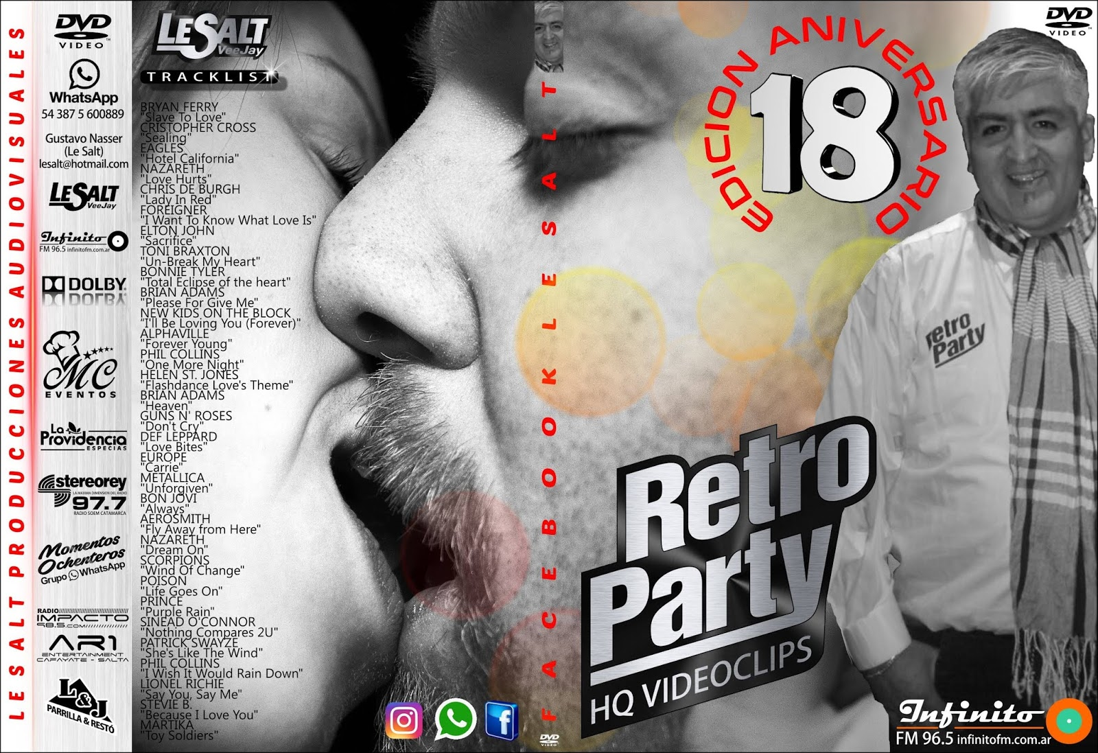 Retro Party18 DVD Full (Video)