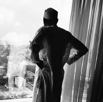Caption This Photo of President Muhammadu Buhari In Thoughtful Mood