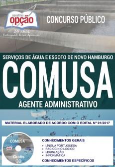 Apostila Concurso COMUSA 2018 Agente Administrativo