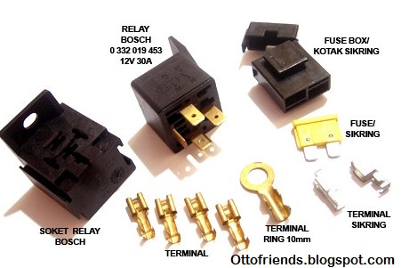 Cara memasang relay untuk klakson dan lampu tambahan revised cara pasang terdapat 2 jenis sistem pelistrikan untuk klakson ccuart Images
