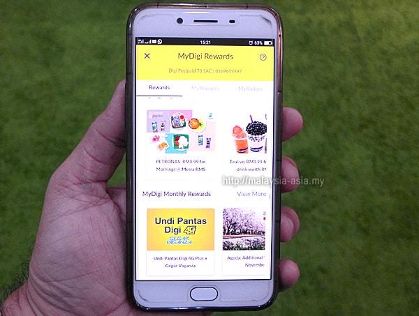 DiGi phone app
