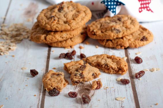 Cómo hacer galletas integrales con pasas